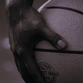 B Ball by Petty Nina - Sports & Fitness Basketball ( basketball, basketball sports, fitness, sports, basket, exercise, fun )