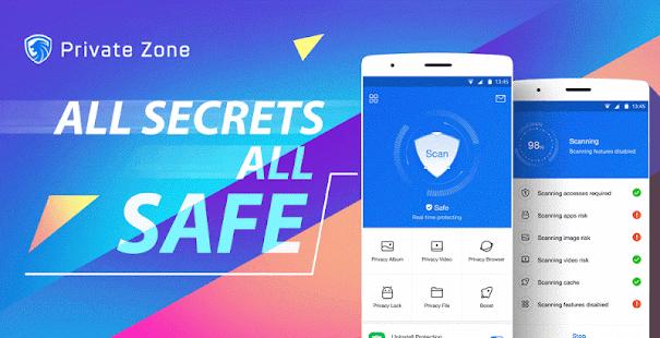 Private Zone-Applock&Hide pics APK for Bluestacks