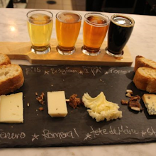 Beer and Cheese tasting - Madame Louise + the East London Brewing Company