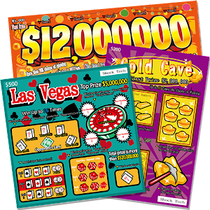 Las Vegas Scratch Ticket
