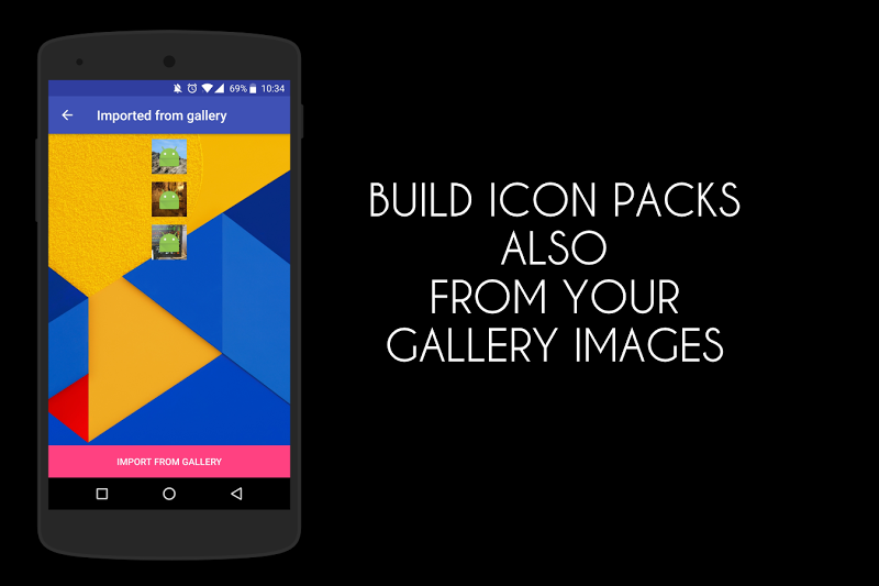 Icon Pack Generator - Create your own icon pack! Screenshot 4