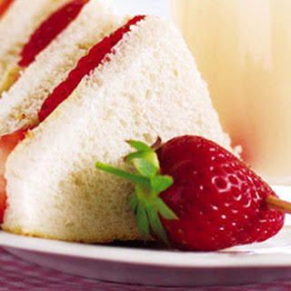 Cream Cheese And Strawberry Jam Sandwiches Recipes
