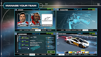 Screenshot of Race Team Manager