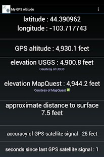 App My GPS Altitude And Elevation APK For Windows Phone Android - What's my elevation app