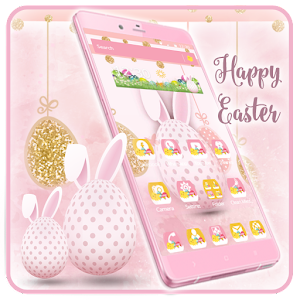 Happy Easter Bows Launcher