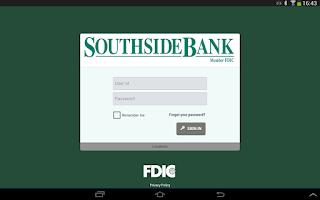 Screenshot of Southside Bank