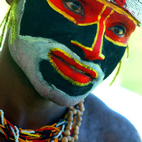 Papua New Guinea by Dolors Bas Vall - People Portraits of Men (  )