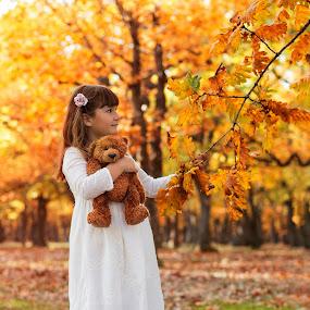 my bear by Petya Dimitrova - Babies & Children Children Candids