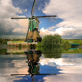 Windmill in NL by Gérard CHATENET - Buildings & Architecture Other Exteriors (  )