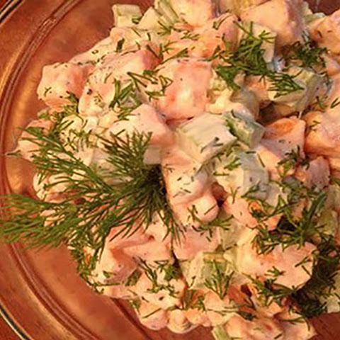 Sweet Potato Salad with Fresh Dill
