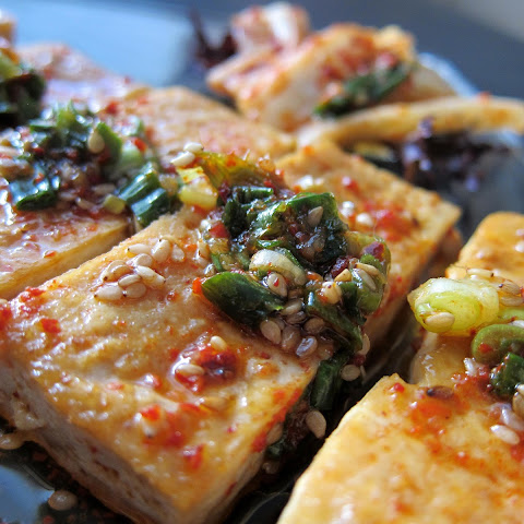 Korean Braised Tofu