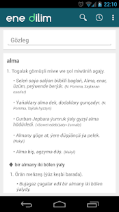 Turkmen Dictionary - screenshot