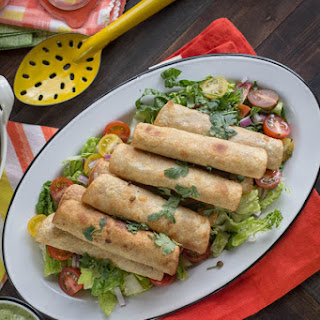 Smoky Lentil Taquitos