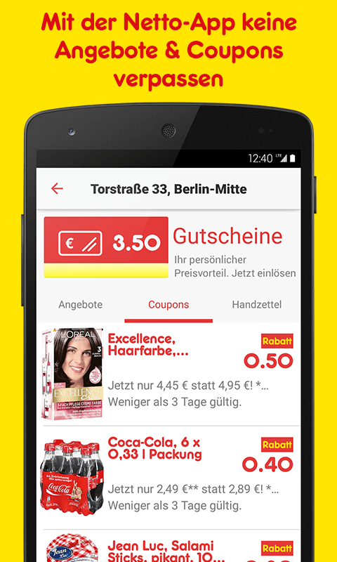 Netto App - Angebote & Coupons Screenshot 2