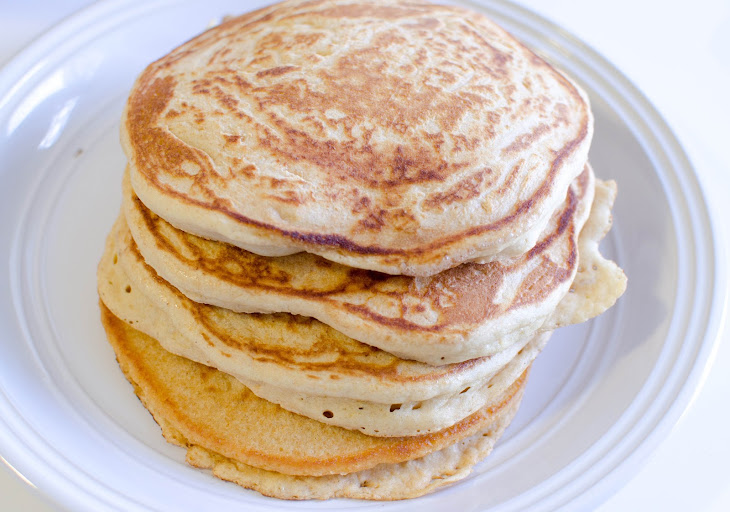 Fluffy Whole Wheat Pancakes Recipe | Yummly