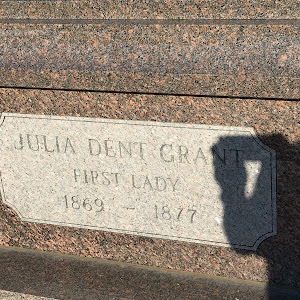 JULIA DENT GRANT FIRST LADY 1869-1877     Submitted by Bryan Arnold @nanowhiskers