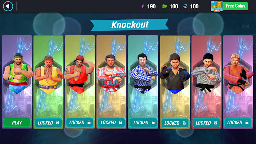 Karate King Fighter: Kung Fu 2018 Final Fighting screenshot 4