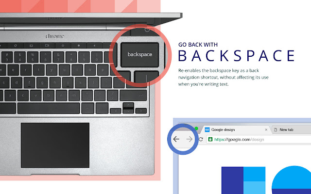 Go Back With Backspace Screenshot