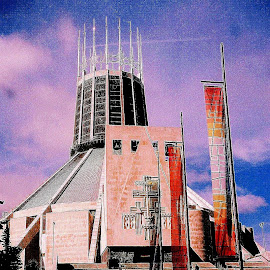 Flags  of   faith by Gordon Simpson - Buildings & Architecture Places of Worship