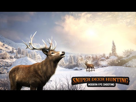 Sniper Deer Hunting Modern FPS Shooting Game APK screenshot thumbnail 13