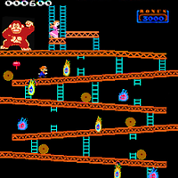 Monkey Kong classic arcade For PC