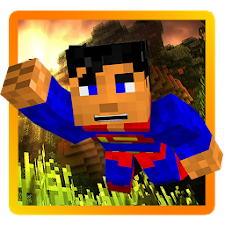 Super Craft Hero Man Run World