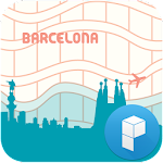 Paperways Barcelona 2 Theme APK Image