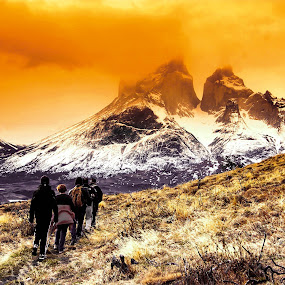 Torres del Paine NP by Alister Munro - Landscapes Mountains & Hills (  )