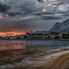 Weather forecast by Bojan Bilas - City,  Street & Park  Vistas ( adriatic, vista, croatia, seascape, gradac, landscape, nikon, city )