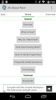 Screenshot of Root for Android - All About