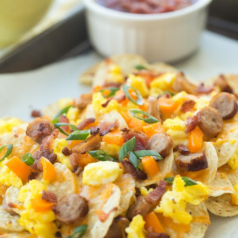 Bacon and Egg Breakfast Nachos