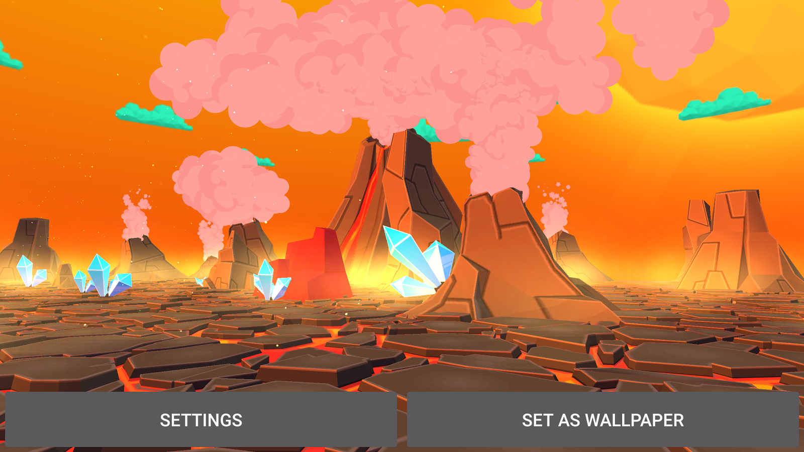 Volcano 3D Live Wallpaper Screenshot 11