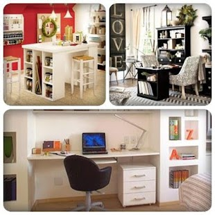Home Office Decorating Designs - screenshot