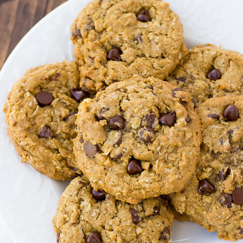 The Best Gluten-Free Oatmeal Chocolate Chip Cookies