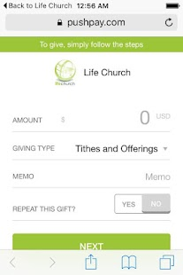 Life Church Pelham - screenshot