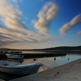 by Adriana Kastelan - Transportation Boats