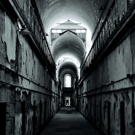 Cell Block 7 by Gary Ambessi - Buildings & Architecture Decaying & Abandoned
