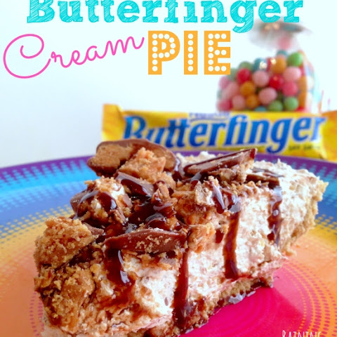 Butterfinger Pie