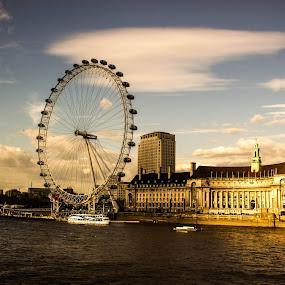 London Eye by Arindam Bera - Novices Only Landscapes (  )