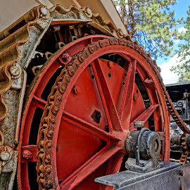 Hmmmmm by Barbara Brock - Artistic Objects Industrial Objects ( crushing machinery, equipment, machinery on the farm, winery )