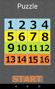 15 PUZZLE - screenshot