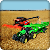 Real Tractor Farming Sim 2017 APK for Bluestacks