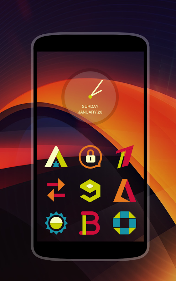 Stylish Icons - Icon Pack Screenshot 4