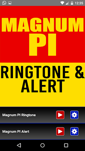 Magnum PI Theme Ringtone - screenshot