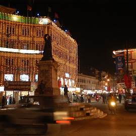 by Rajesh Dhungana - City,  Street & Park  Night (  )