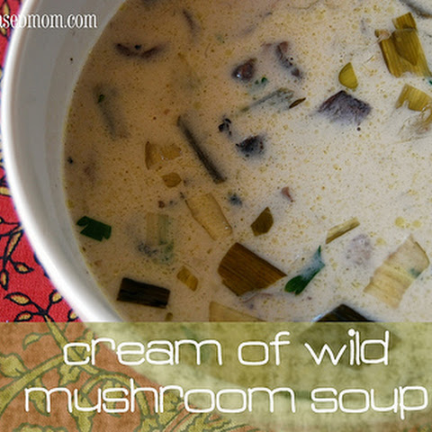 Barefoot Bloggers – Cream of Wild Mushroom Soup