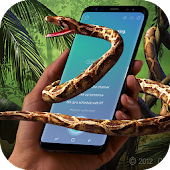 App Snake on Screen Hissing Joke: Realistic Animation APK for Windows Phone