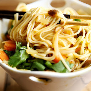 Miso Vegetable Whole Wheat Noodle Soup