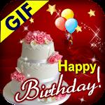 Happy Birthday GIF 2018 Icon