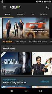 Free Amazon Prime Video APK for Windows 8